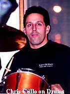Chris Cullo on Drums